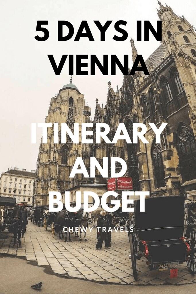 5 days budget for Vienna