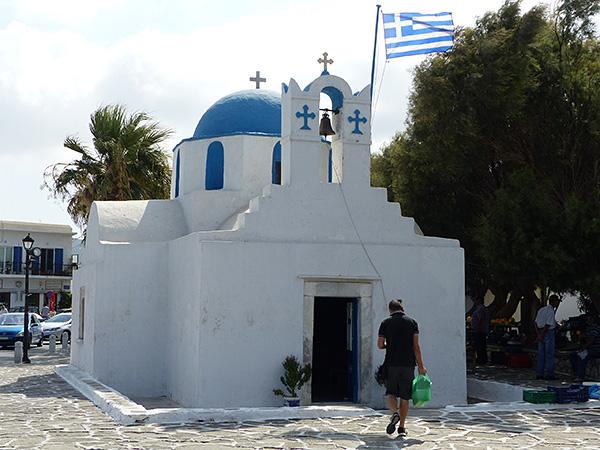 la petite église de paros