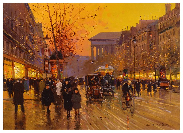 001- Boulevard de la madeleine-Edouard Leon Cortes-rehs galleries