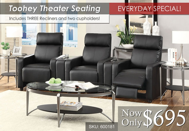 Toohey Theater Seating - Everyday