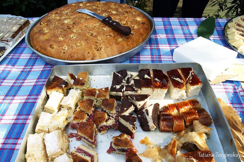 Пирог и пирожные