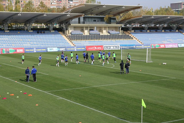 Armenia U19 Training in Banants