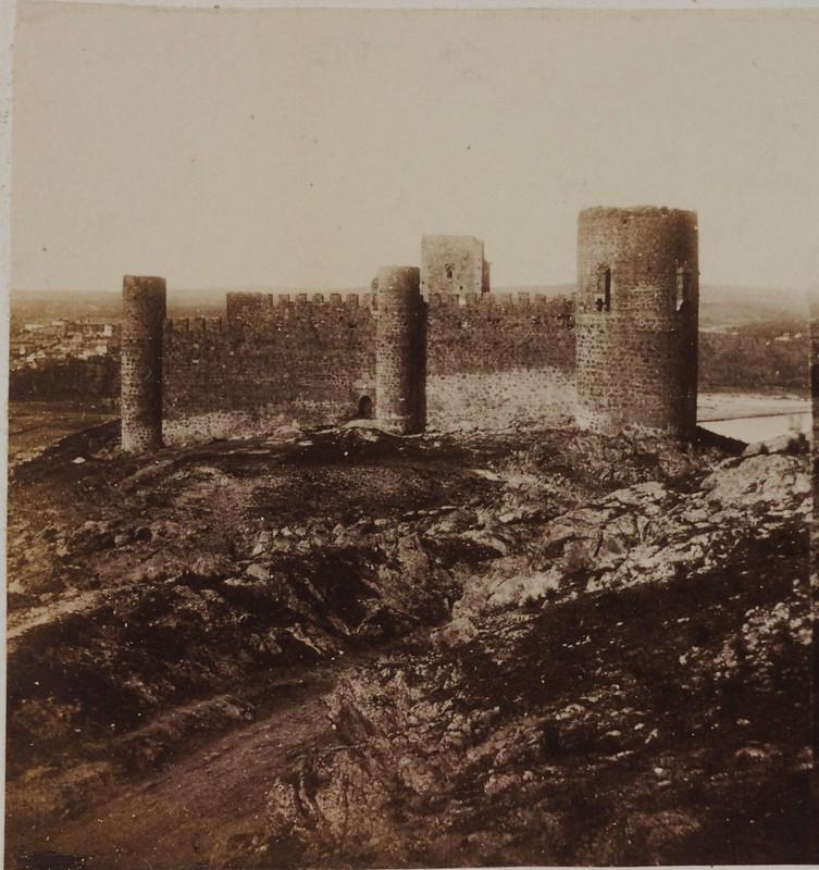 Castillo de San Sevando en 1856. Fotografía estereoscópica de Joseph Carpentier (c) Bibliothèque Nationale de France