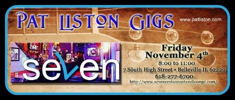 Pat Liston 11-4-16
