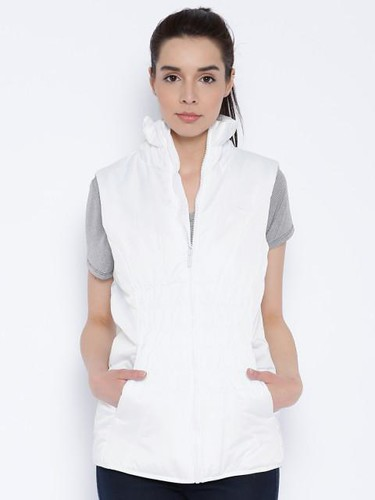 Jacket styles for women - Padded Sleeveless Jacket