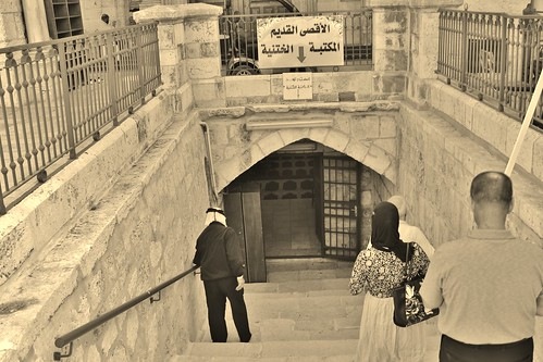 Heading to the Old, Original Masjid Al-Aqsa
