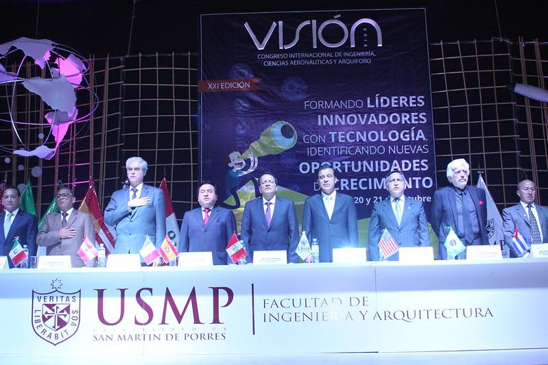XXI Congreso Internacional de Ingeniería, Ciencias Aeronáuticas y Arquiforo Visión 2016 de la Facultad de Ingeniería y Arquitectura finalizó con éxito sus actividades