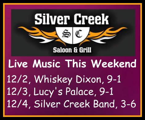 Silver Creek Poster 12-2