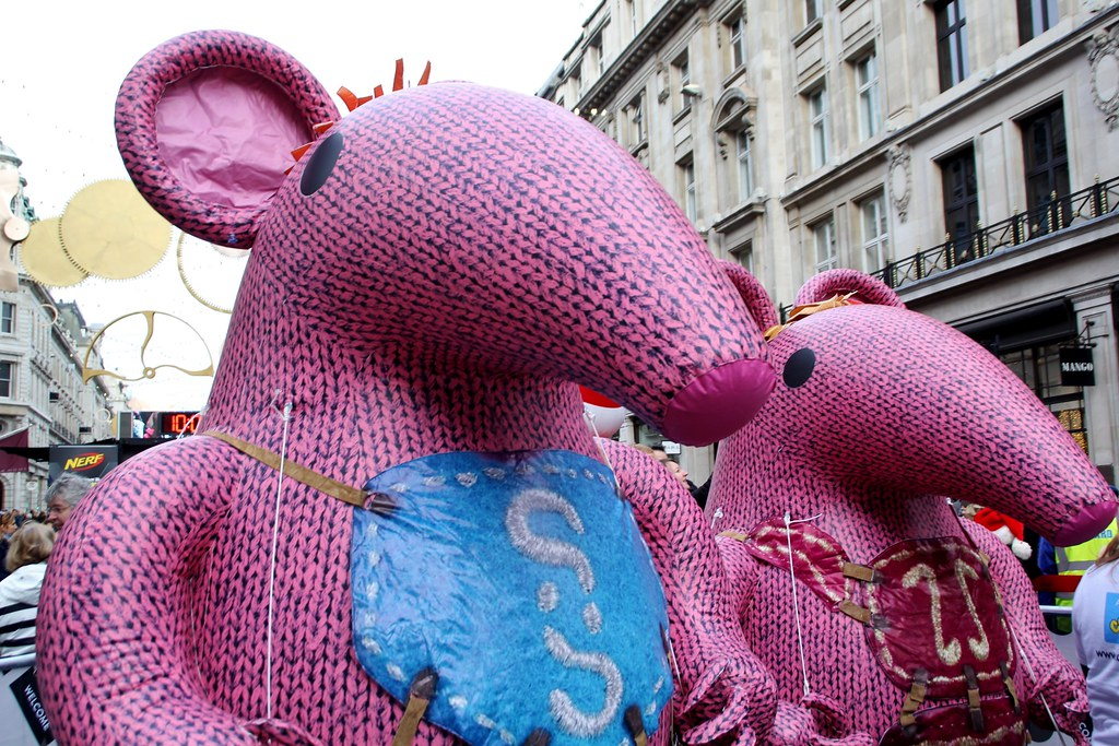 Hamley's Parade, London