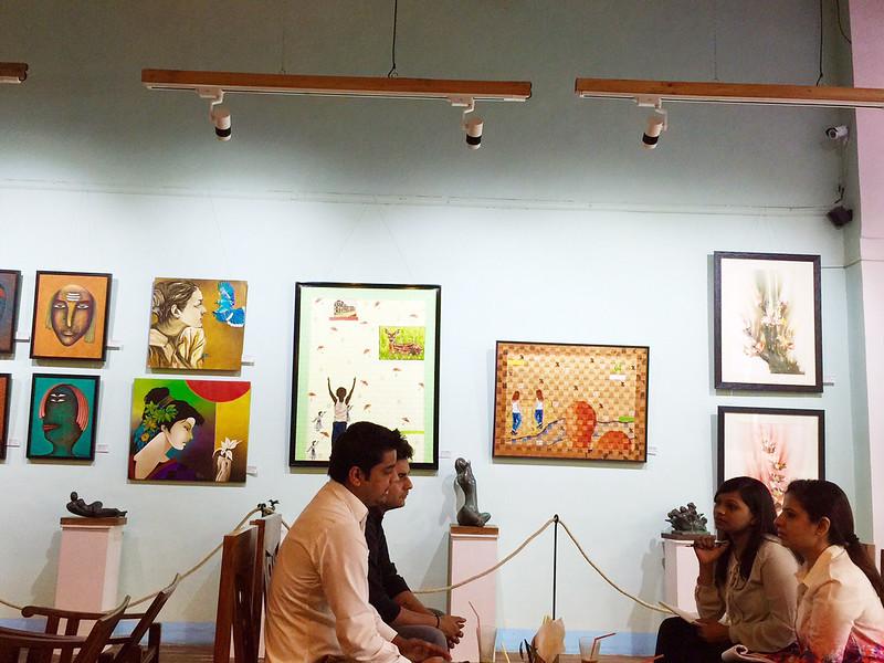 City Hangout - Café De Art, Connaught Place