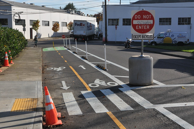New bikeway on NE 21st Avenue-8.jpg