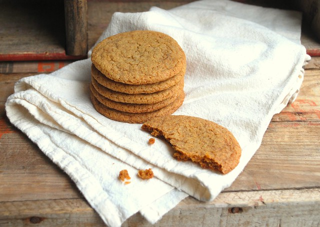 Thiny Chewy Ginger Cookies Blog