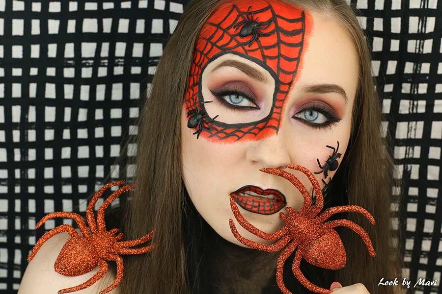 8 halloween ideas costume makeup spiders