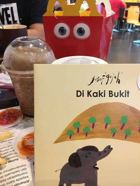Children's storybook in Happy Meal
