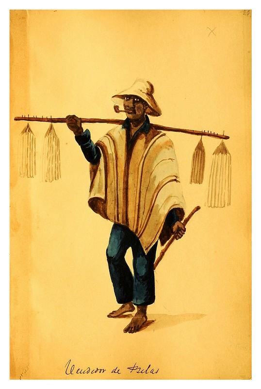 011-Tipos de Lima- Pancho Fierro- 1850-60- Museo de Bellas Artes Argentina.