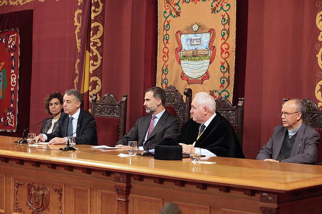 16/11/2016 - La Universidad celebra un acto centenario de Deusto Business School presidido por Su Majestad el Rey