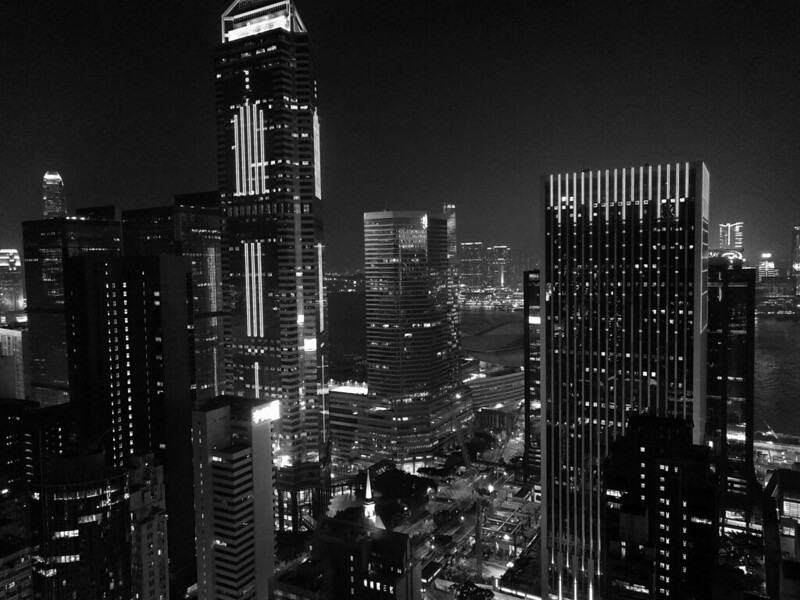 Wan Chai night view