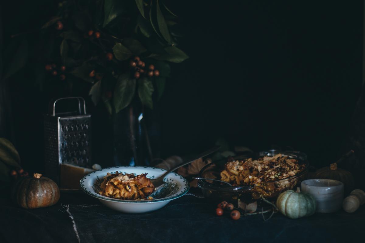 Saffron Pumpkin Pasta Bake for Virtual Pumpkin Party | Pasta al Forno con la Zucca | Lab Noon by Saghar Setareh-13