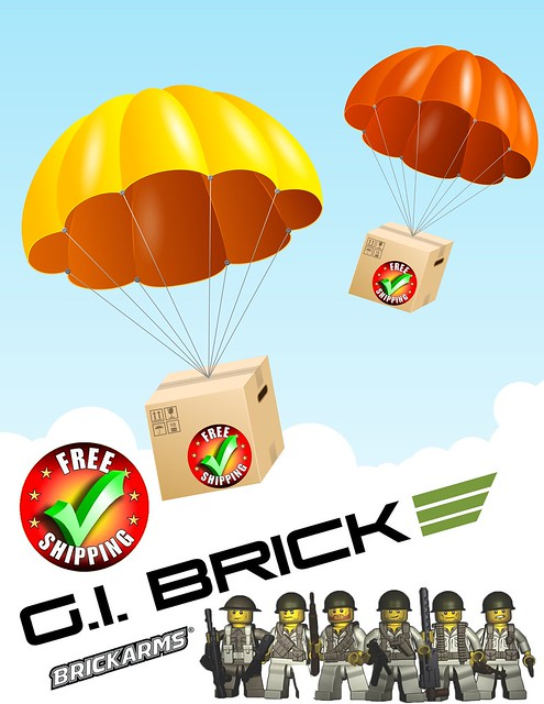 Free Shipping Week at GI BRICK!