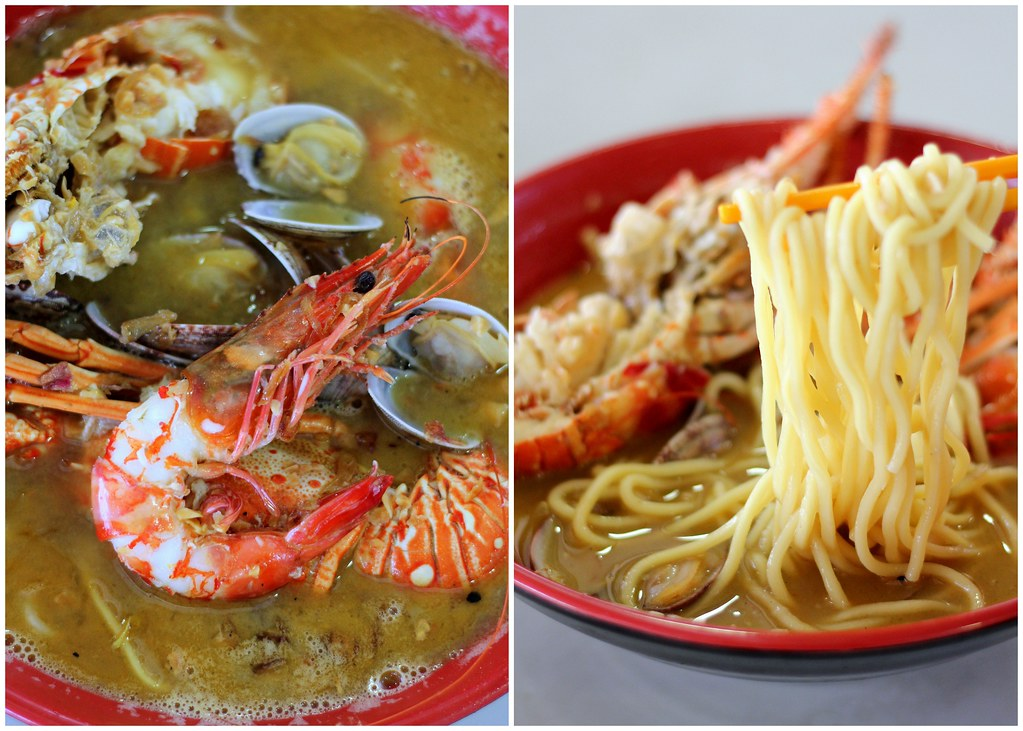 Sumo Big Prawn: Noodle Lobster And Big Prawn Noodle Soup