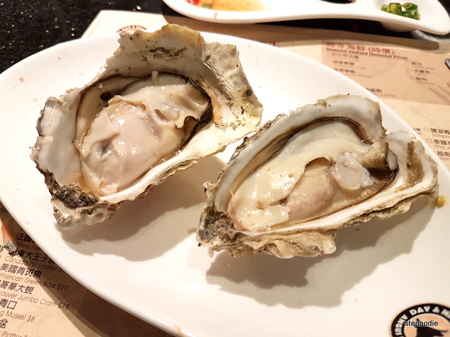 Canadian fresh oysters