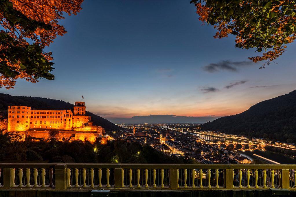 Heidelberg bei Nacht I