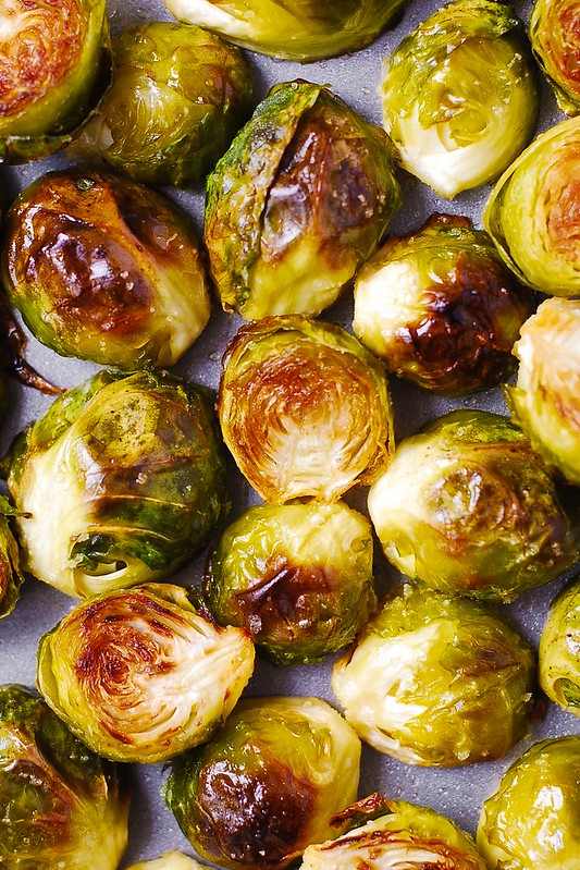 how to cook brussels sprouts, how to roast brussels sprouts, easy side ...