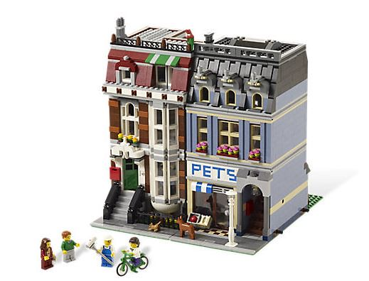 Lego Pet Shop Building
