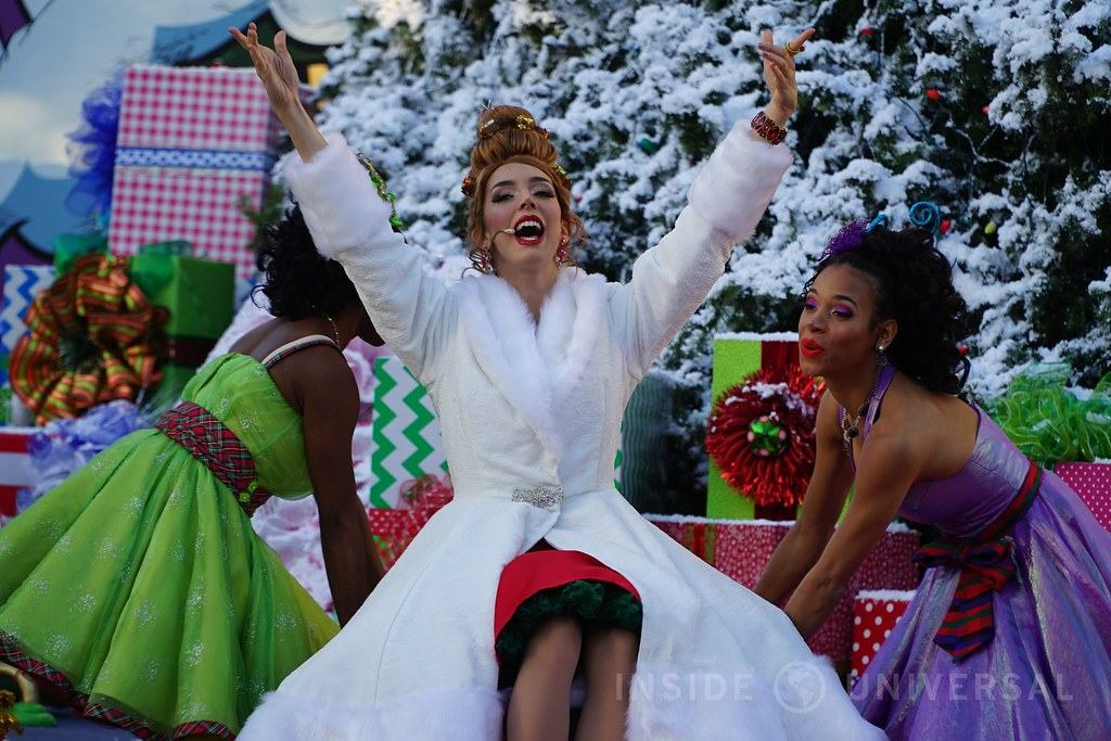 Grinchmas 2016 at Universal Studios Hollywood