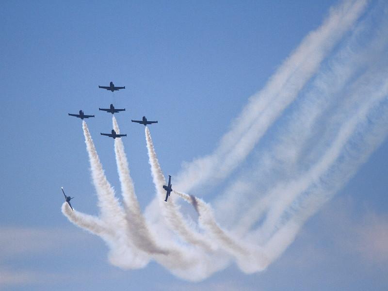 IMG_4083 Breitling Jet Team, Breitling Huntington Beach Airshow