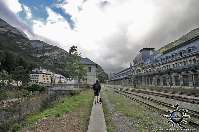Estación Internacional de Canfranc - Huesca, Aragón. España. Spain