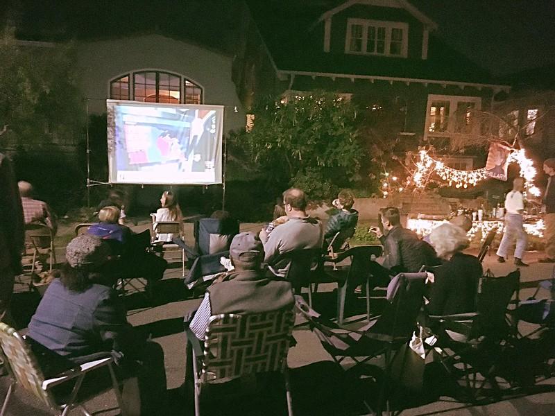 Election night 2016 in Berkeley
