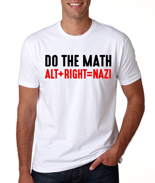 Do the math - Alt+Right=Nazi