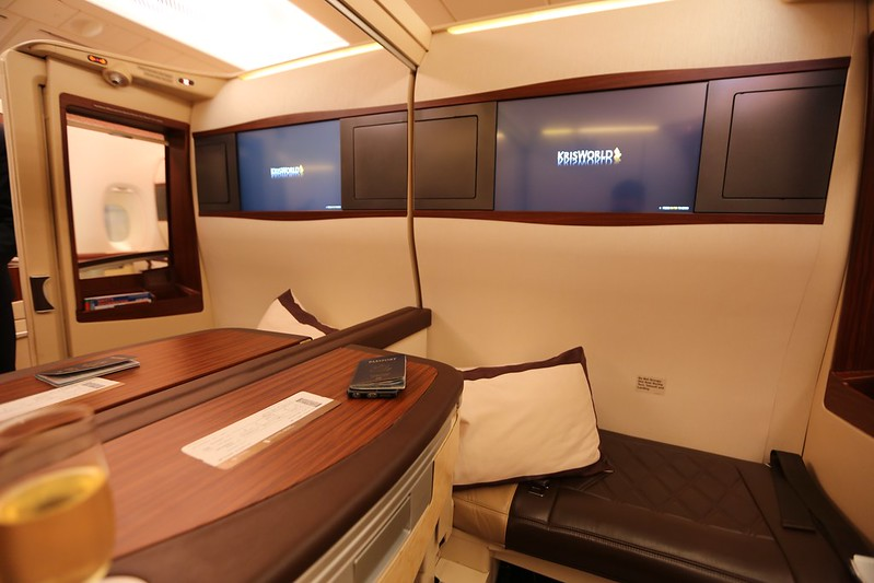 Singapore Suites First Class A380