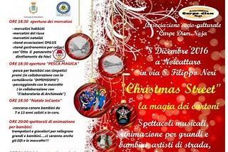 Noicattaro. Christmas Street front