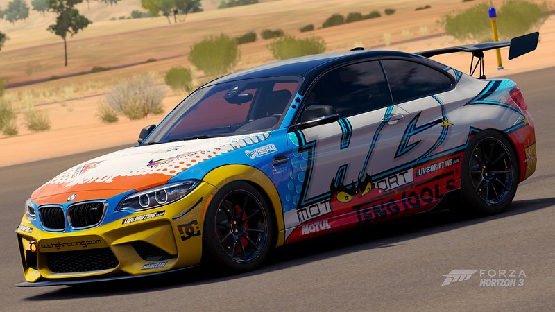 Forza horizon 3 livery contests 3 contest archive for Garage bmw horizon