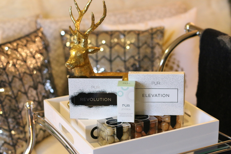 pur cosmetics, revolution palette, elevation makeup, joy stick exfoliant, beauty products