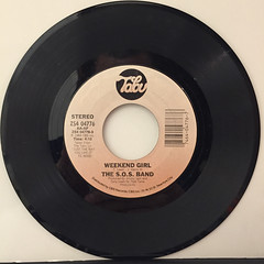 THE S.O.S. BAND:WEEKEND GIRL(RECORD SIDE-A)