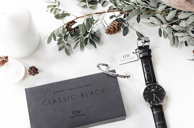 Classic Black Daniel Wellington by mvesblog