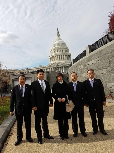 參觀美國國會 (1)