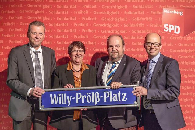 Feierstunde der SPD Nürnberg