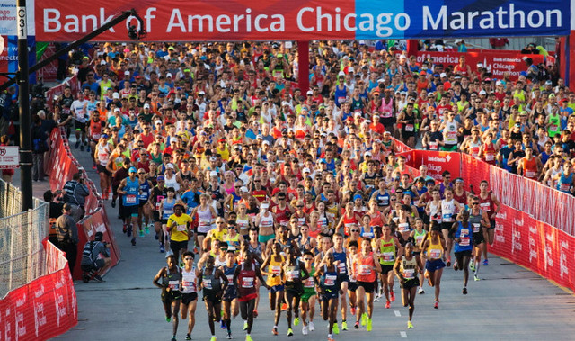 Maratón de Chicago 2016