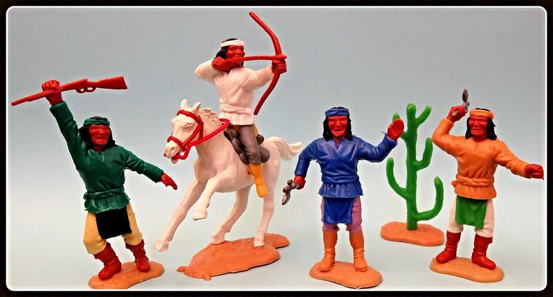 Toy soldiers, cowboys, indians, space men etc 31374959436_f0563c2607_c
