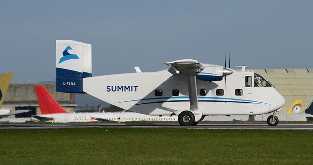 Summit Air Shorts Skyvan C-FARA
