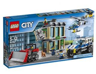 LEGO City Bulldozer Break-In (60140) box