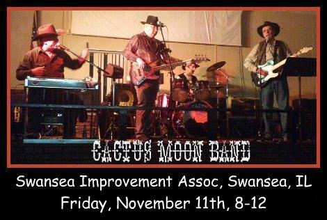 Cactus Moon Band 11-11-16