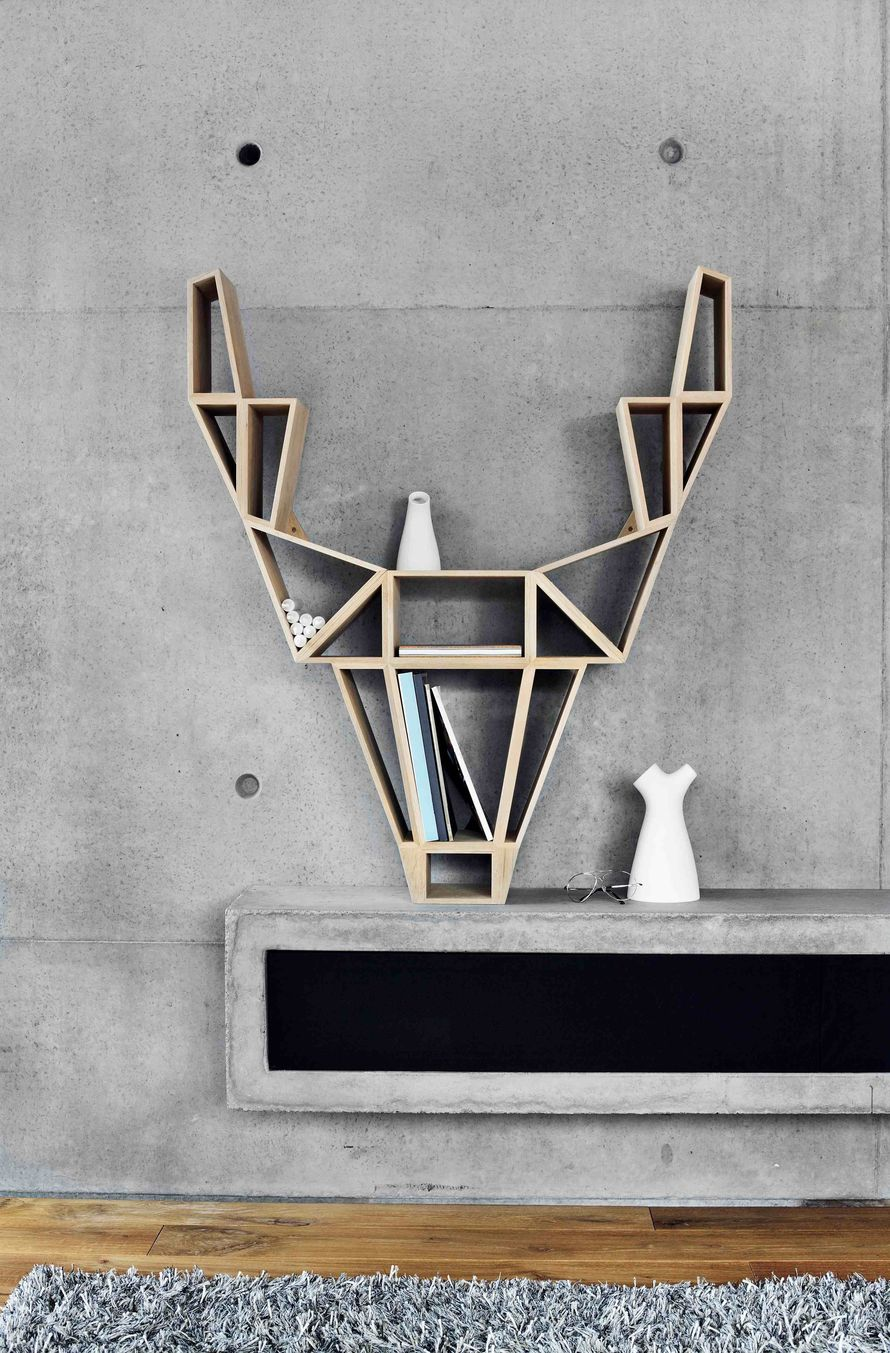 BEdesign deer shelf