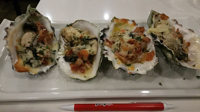 2016-Dec-3 Fanny Bay Oysters - Oyster Casino