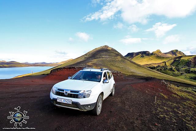Dacia Duster, Islandia. Iceland. Ísland.