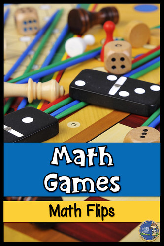 Math Flips Game; Expressions; DIY Classroom; Free Math Game